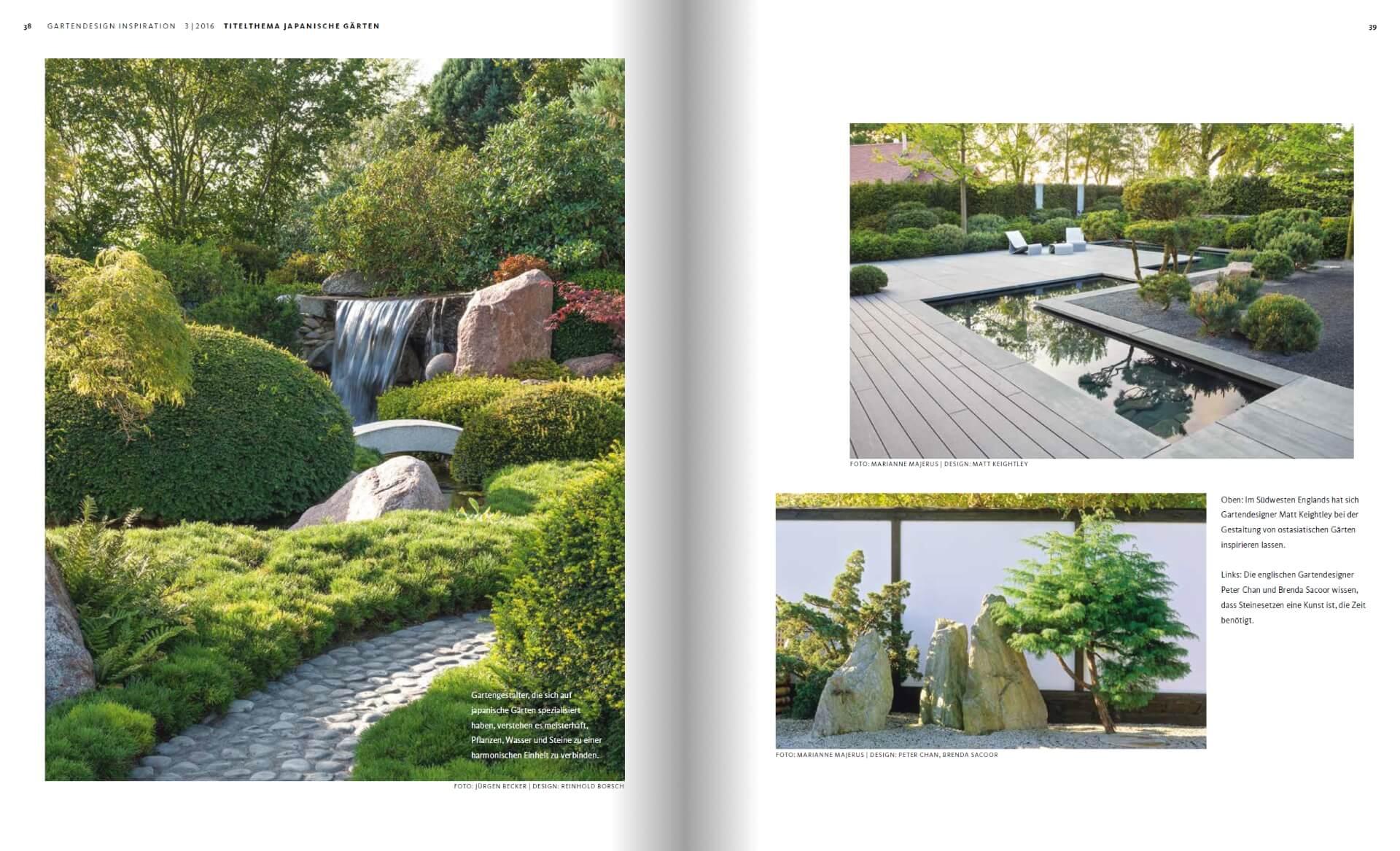 GARTENDESIGN INSPIRATION 3/2016: Japanische Gärten