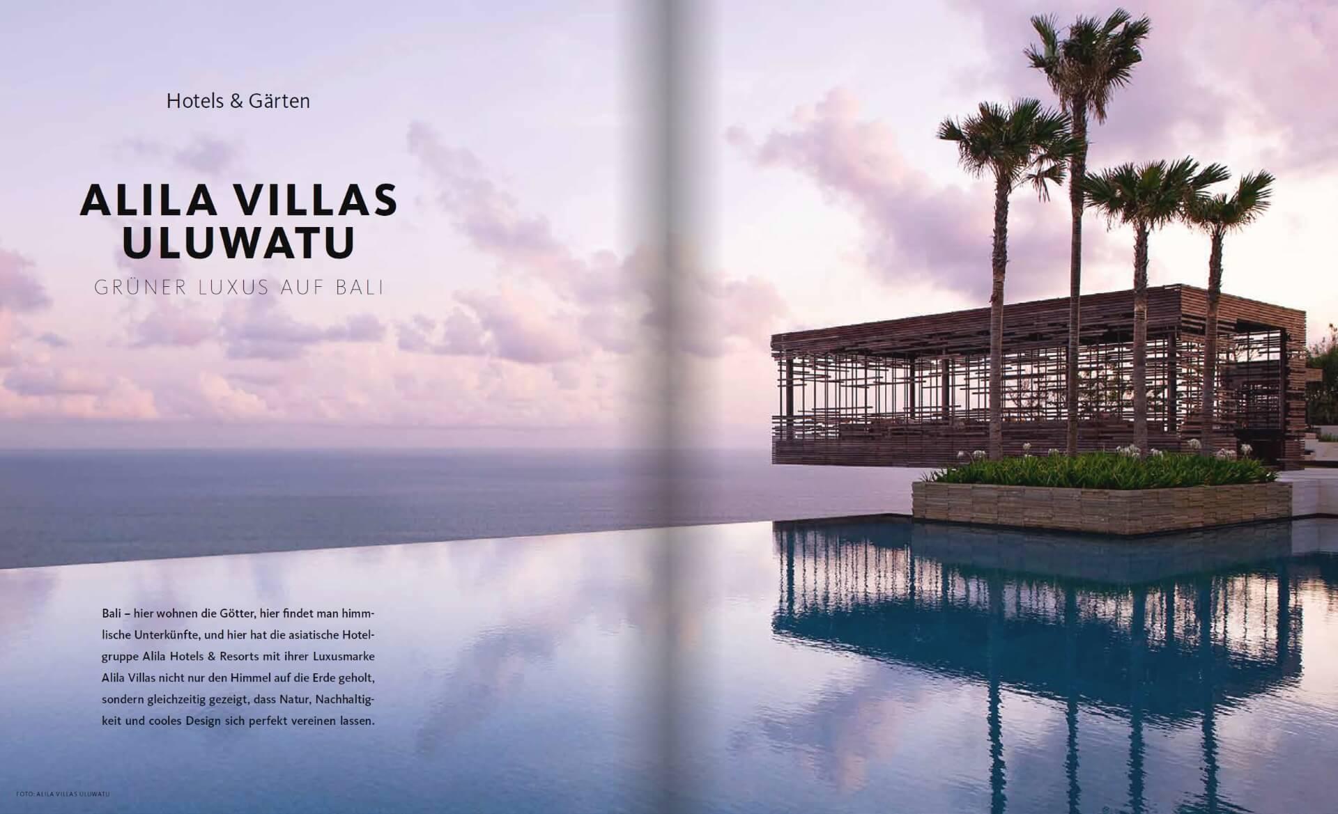 GARTENDESIGN INSPIRATION 4/2017: Alila Villas Uluwatu Bali