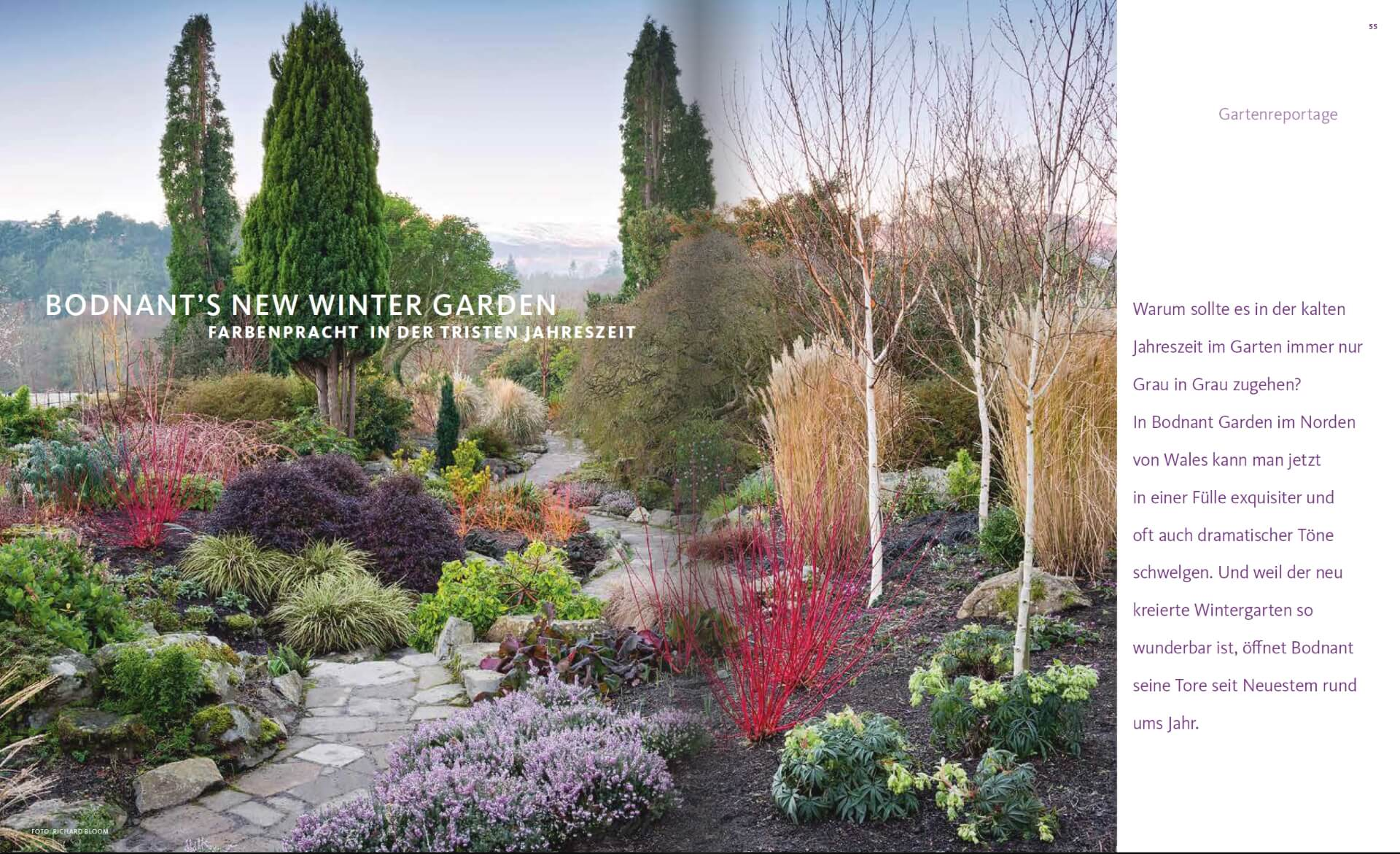 GARTENDESIGN INSPIRATION 6/2017: Winter Garden