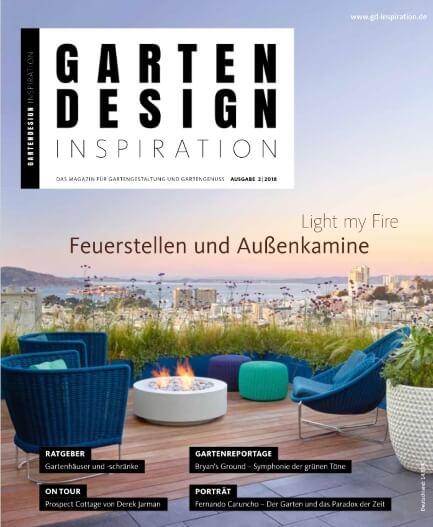 GARTENDESIGN INSPIRATION 2|2018: Feuerstellen und Aussenkamine
