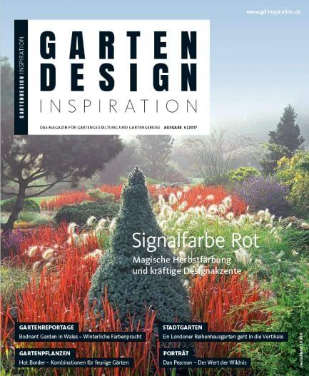 GARTENDESIGN INSPIRATION 6|2017: Signalfarbe Rot