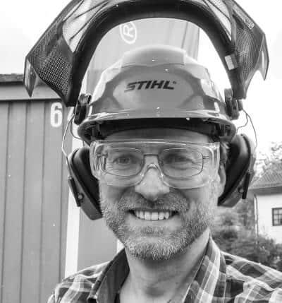 Ralf Hermann Melber, Baumpfleger