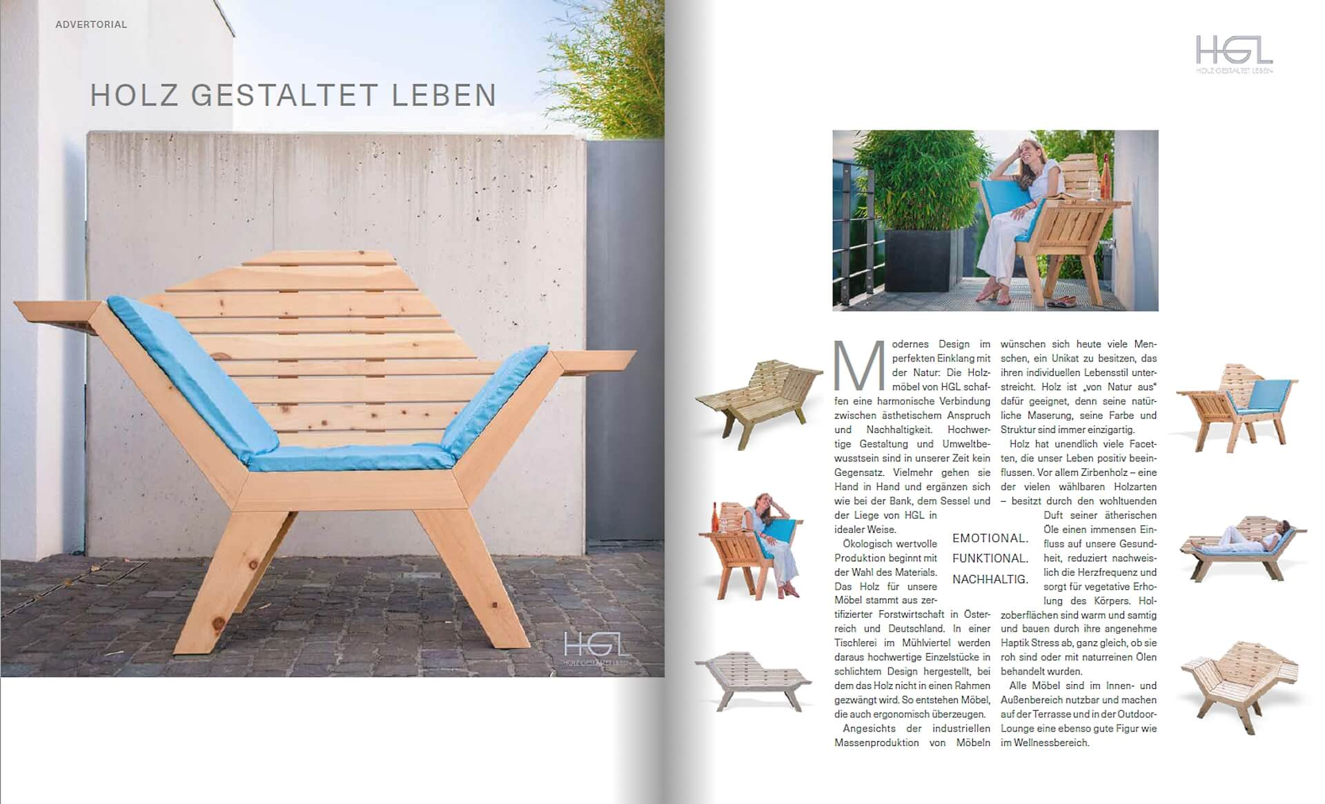 GARTENDESIGN INSPIRATION Ausgabe 3/2018: Holz Gestaltet Leben