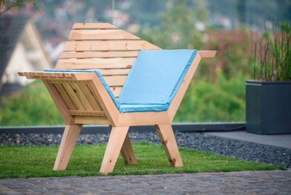 Sessel von Holz Gestaltet Leben