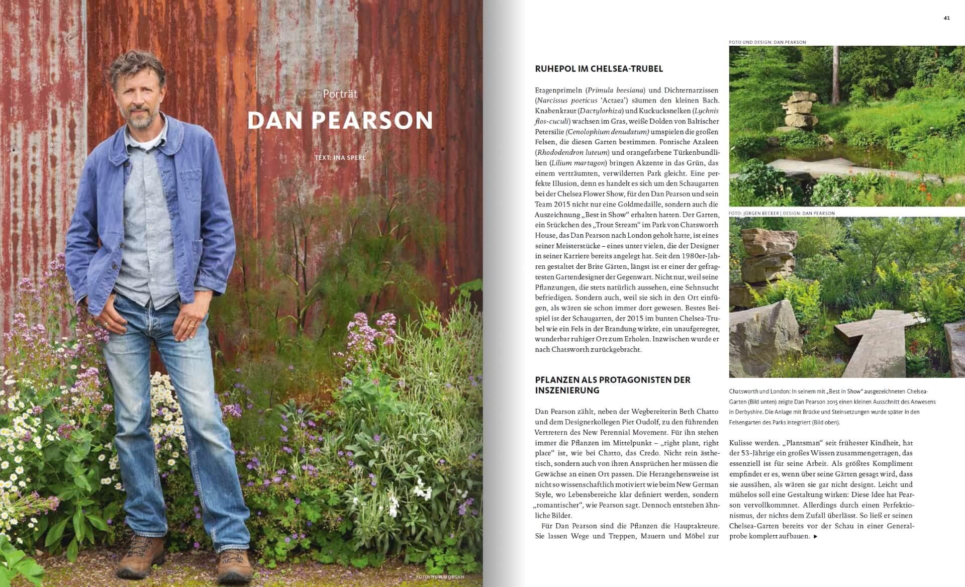 GARTENDESIGN INSPIRATION 3/2018: Dan Pearson