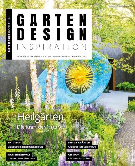 GARTENDESIGN INSPIRATION 4|2018: Heilgärten