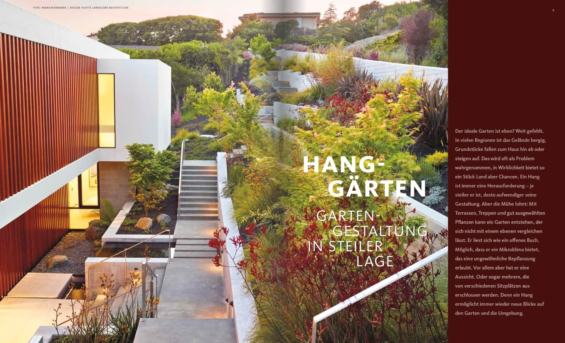 Hanggarten Gartengestaltung In Steiler Lage Gd Inspiration De