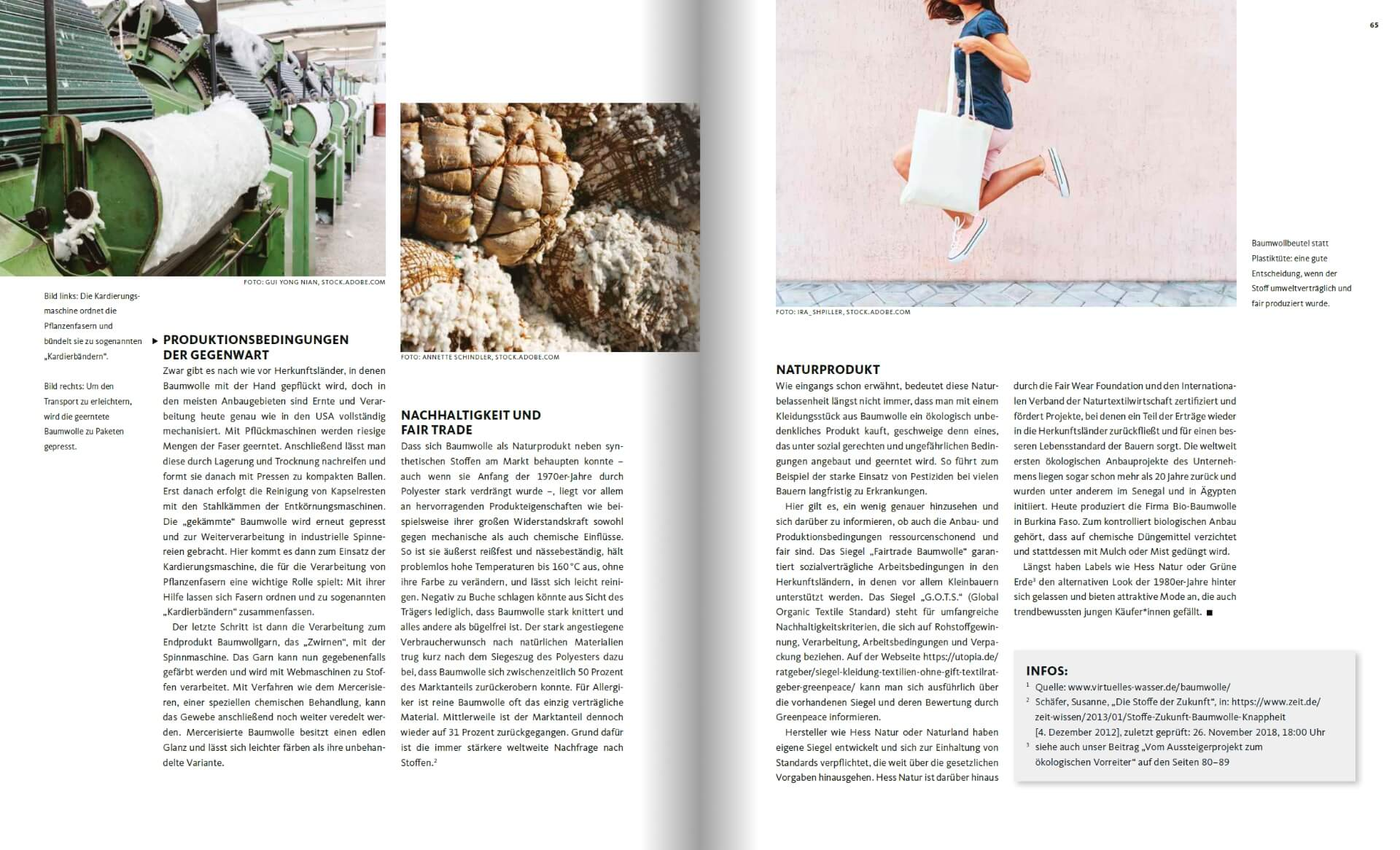 GARTENDESIGN INSPIRATION Ausgabe 1/2019: Pflanzenfasern - Stoffe aus Baumwolle