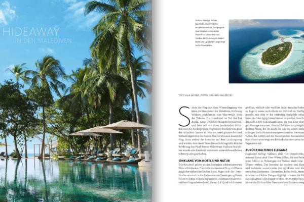 GARTENDESIGN INSPIRATION Ausgabe 2/2020: Vakkaru Malediven